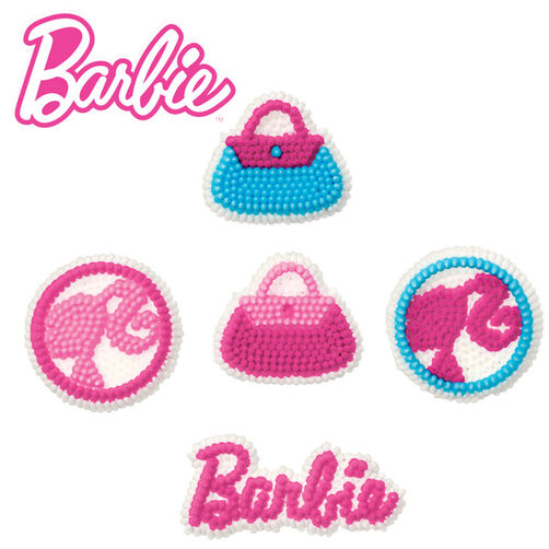 Barbie ™ Icing Decorations