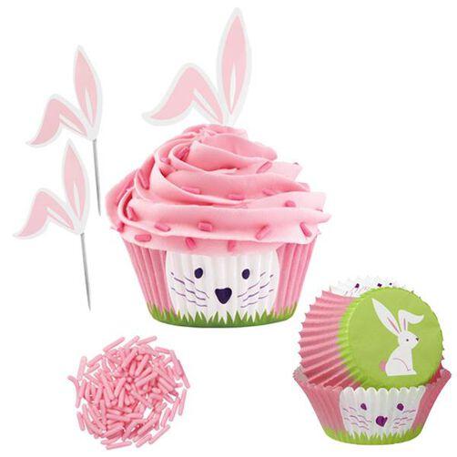 Wilton Easter Cake Decorating Ideas : Bunny Cupcake Decorating Kit Wilton