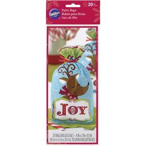 Wilton Joyful Reindeer Treat Bags