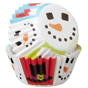 Merry & Sweet Mini Cupcake Liners