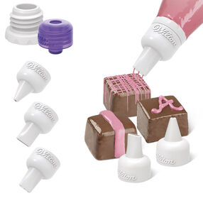 Wilton Candy Melts Decorating Tip Set, 5-Pc. 1904-1021
