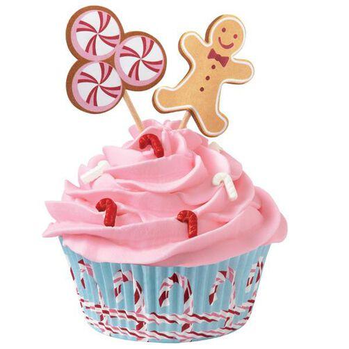 Cupcake Kit Gingerbread Cottage Kit