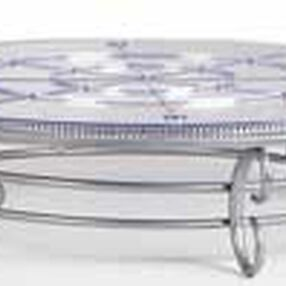 17 in. Scrollwork Cake Stand