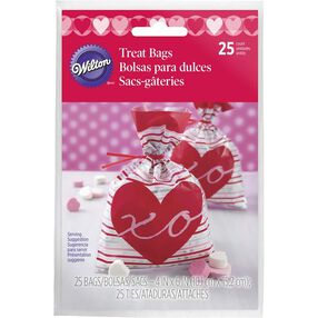 Heart Shaped Valentine Party Bags