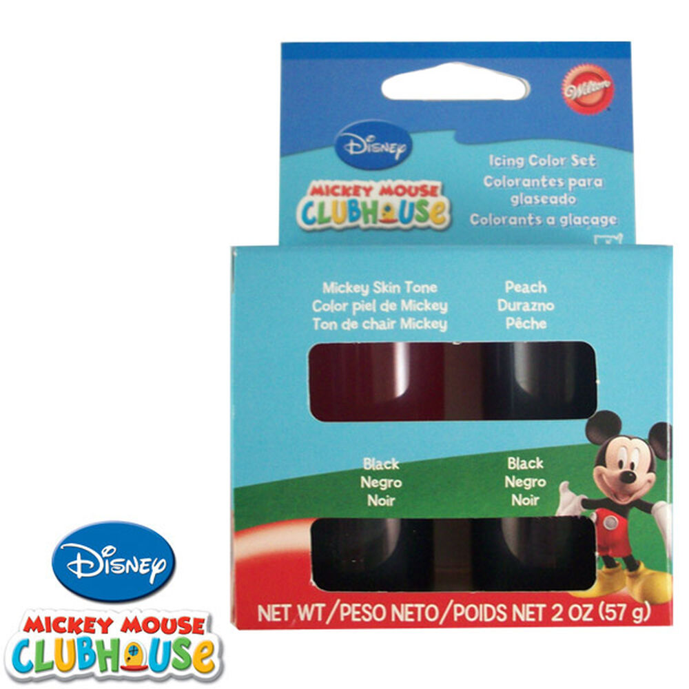 Disney Mickey Mouse Clubhouse Icing Color Set | Wilton