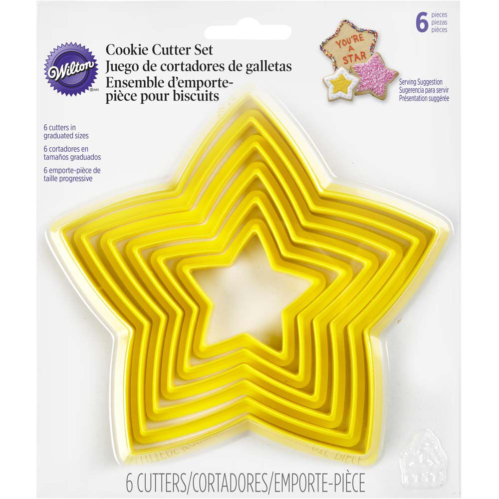 Nesting Star Cookies Cutters Wilton