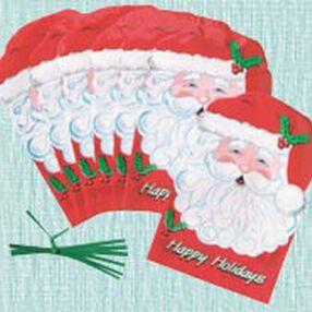 Shaped Santa Bags