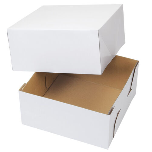 10  x 10 in. Corrugated Cake Box