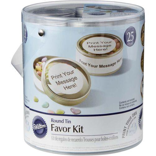 Favor Tin Mega Kit in packaing