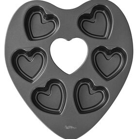 Wilton Heart Shaped Mini Cake Pan