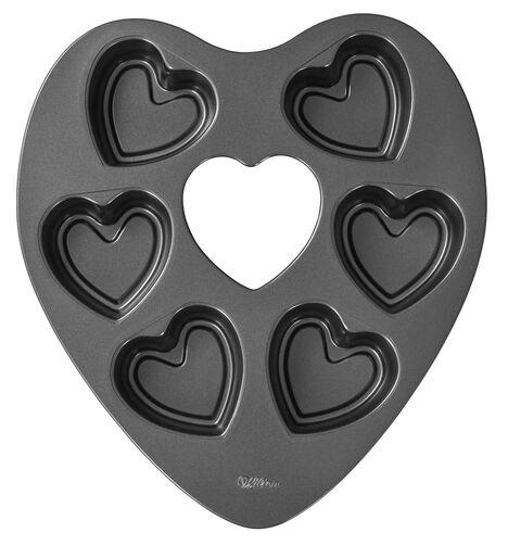 Heart Shaped Mini Cake Pan