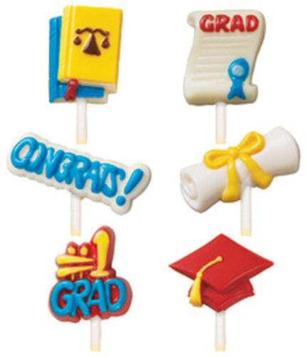 Graduation Lollipop Mold
