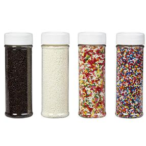 Wilton Everyday Mega Sprinkle Set 4 Pack 710-1175