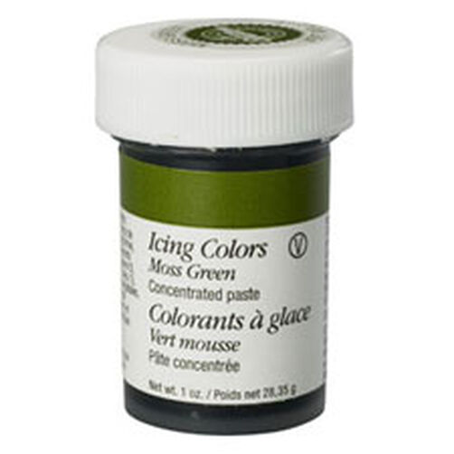 Moss Green Icing Color