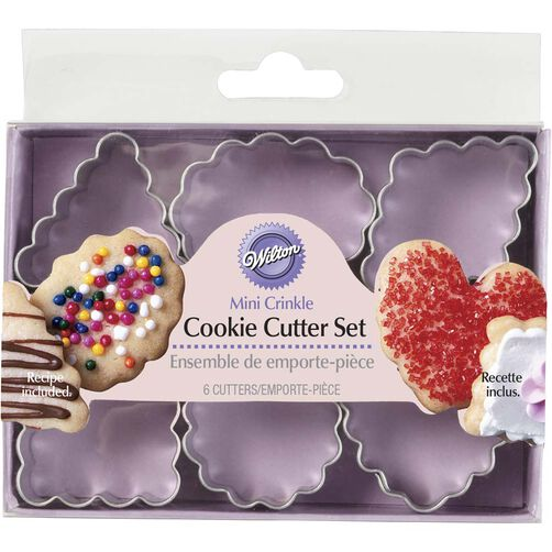 Geometric Crinkle Mini Metal Cutter Set