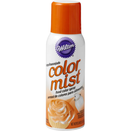 Color Mist Orange Food Coloring Spray