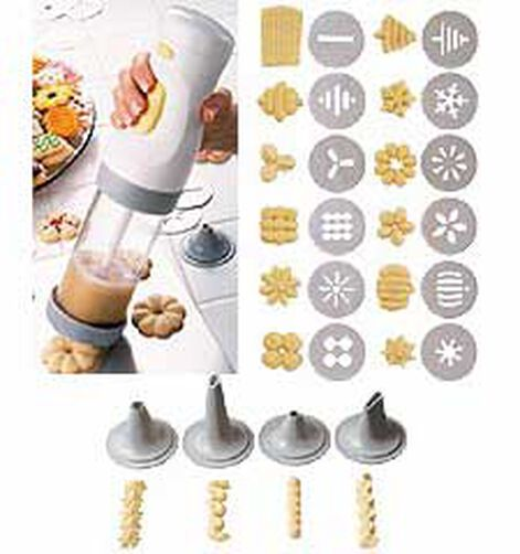 Cake Decorating Classes Zimbabwe : Cookie Master Plus Cordless Cookie Press Wilton