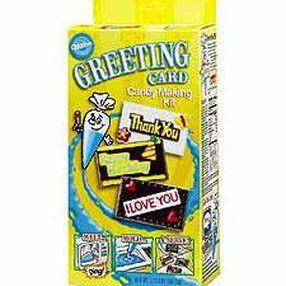 Greeting Cards Kids Candy-Making Kit