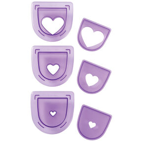 3-Pc. Layered Hearts Cutting Insert Set