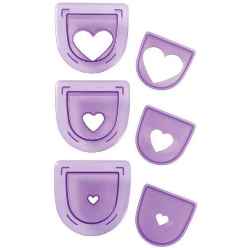 3-Pc. Layered Hearts Cutting Insert Set