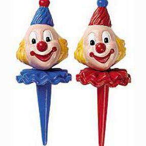 Small Derby Clowns Topper Set