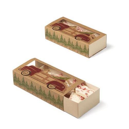 Christmas Holiday Sweet Swap Sliding Treat Boxes