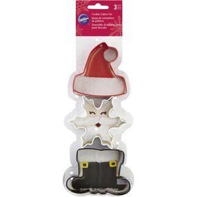 Wilton Santa Claus Cookie Cutter Set