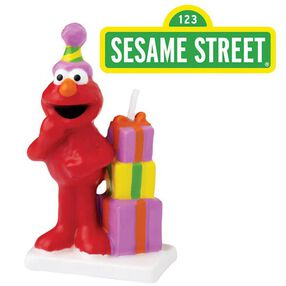 Sesame Street Elmo Birthday Candle