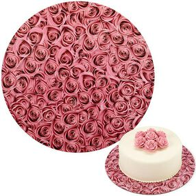 Wilton 12 in. Roses Cake Boards 3 Ct. 2104-0410