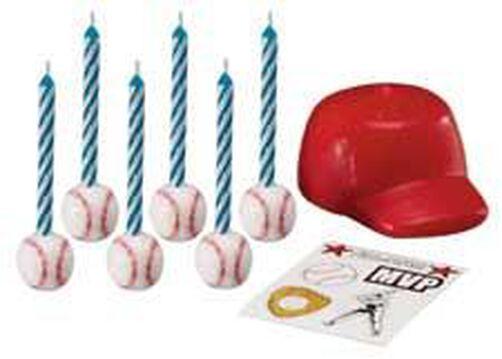 Baseball Candle Set