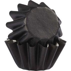 Black Wave Cupcake Liners