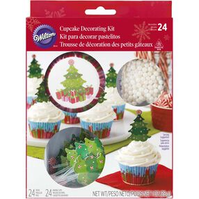 Wilton Christmas Tree Cupcake Decorating Kit