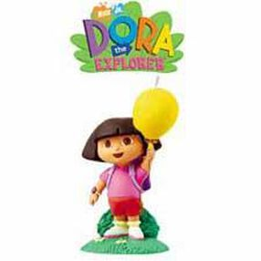 Dora the Explorer Candle