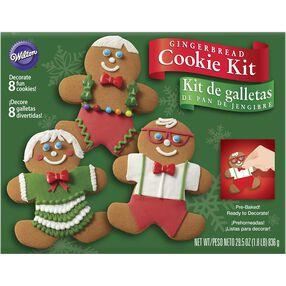 Wilton Gingerbread Cookie Family Kit
