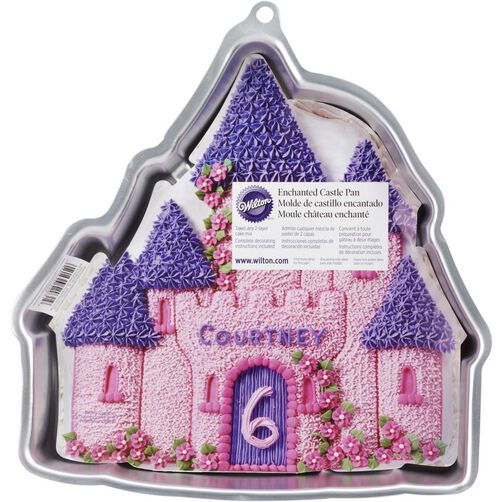 Wilton Enchanted Castle Cake Pan Instructions