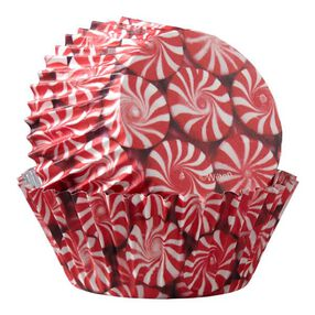 Wilton Christmas Peppermint ColorCups Standard Baking Cups, 36-Ct.