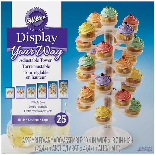Display Your Way™ Adjustable Cupcake Tower