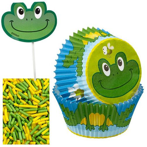 Frog Cupcake Decorating Kit