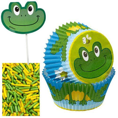 Frog Cupcake Decorating Kit