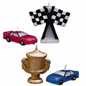 Race Cars 4-Piece Candle Set