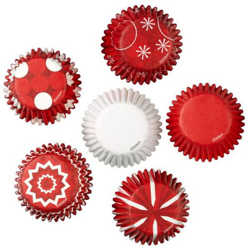 Assorted Candy Cane Mini Bake Cups