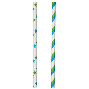 Blue & Green Lollipop Sticks
