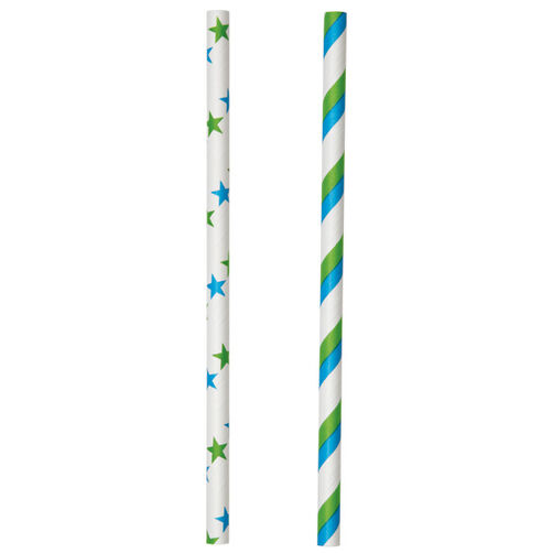 Colored Lollipop Sticks Blue/Green