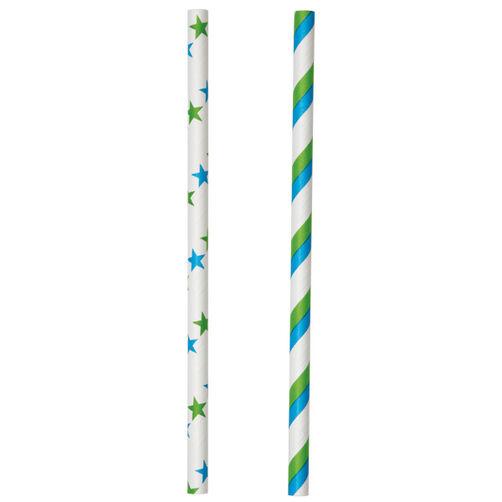 Blue & Green Lollipop Sticks