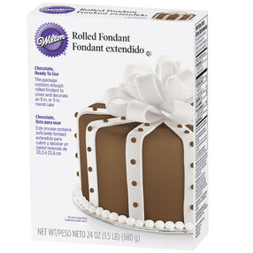 Ready-To-Use Rolled Fondant-Chocolate