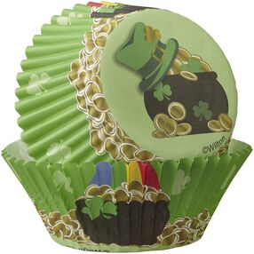 Wilton St. Patrick's Day Cupcake Decorating Kit, 24-Count