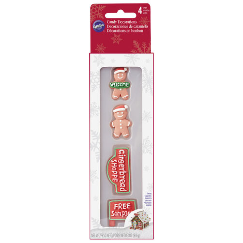 Gingerbread Shoppe Candy Decorations
