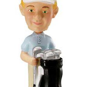 Golfer Bobbling Topper