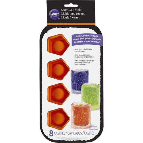 Wilton Halloween Silicone Shot Glass Mold