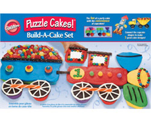 Transportation Puzzle Cakes Silicone Build A Cake Set